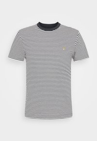 DAYTONA TEE - Print T-shirt - true navy