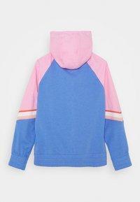 Nike Sportswear - HERITAGE HOODIE - Hoodie met rits - royal pulse/pink/atomic pink - 1