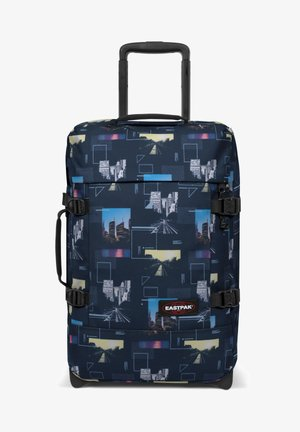 TRANVERZ  - Wheeled suitcase - shapes blue