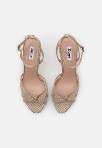 Dune London - MARLAH DI - High heeled sandals - champagne - 5