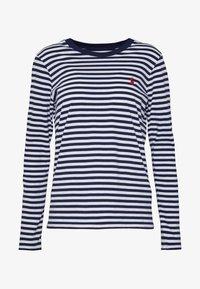 Polo Ralph Lauren - Long sleeved top - dark blue/white - 4