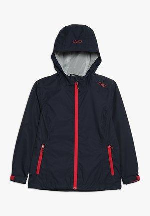 RAIN FIX HOOD - Waterproof jacket - black blue