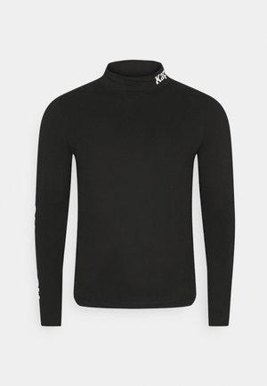 HAGEN - Long sleeved top - caviar