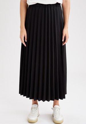 REGULAR FIT - Spódnica trapezowa - black