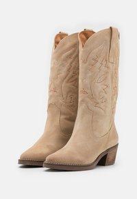mtng - TEO - Cowboy/Biker boots - afelpado arena - 2