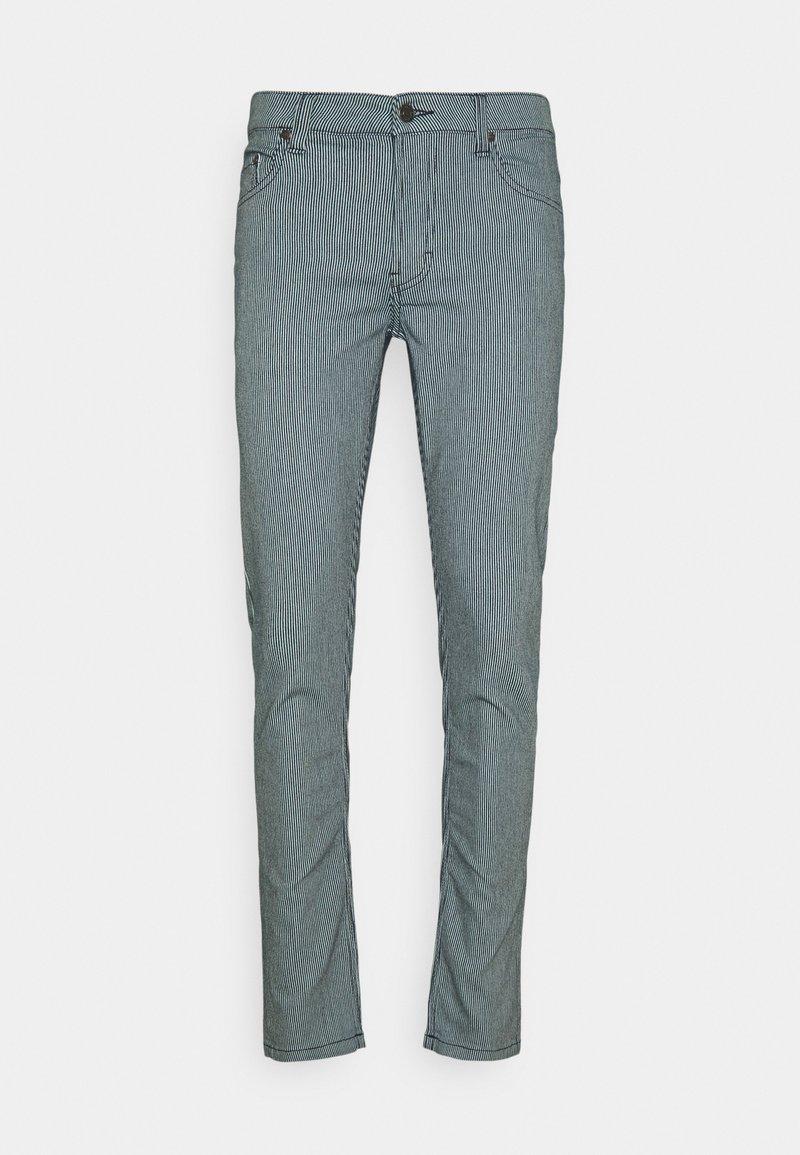 Denim Project - STRIPE - Slim fit jeans - blue