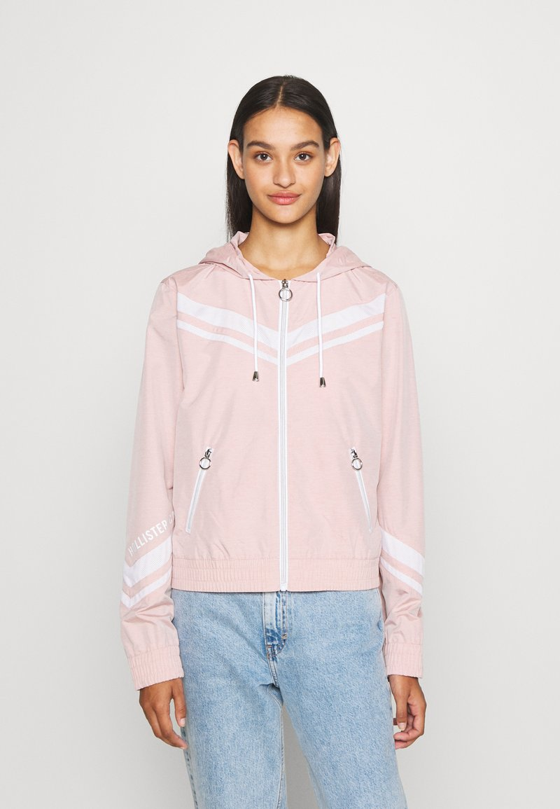 Hollister Co. - Windbreaker - misty rose