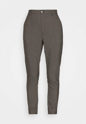 NEWS EDIT TROUSERS - Kalhoty - khaki brown