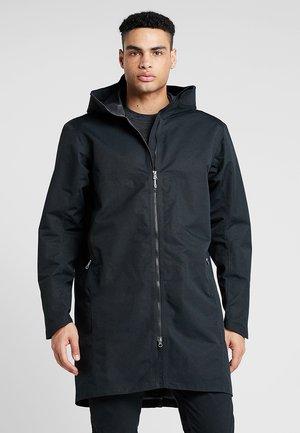 ONE PARKA - Hardshell jacket - true black
