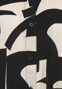 Monki - Button-down blouse - cutouts - 4