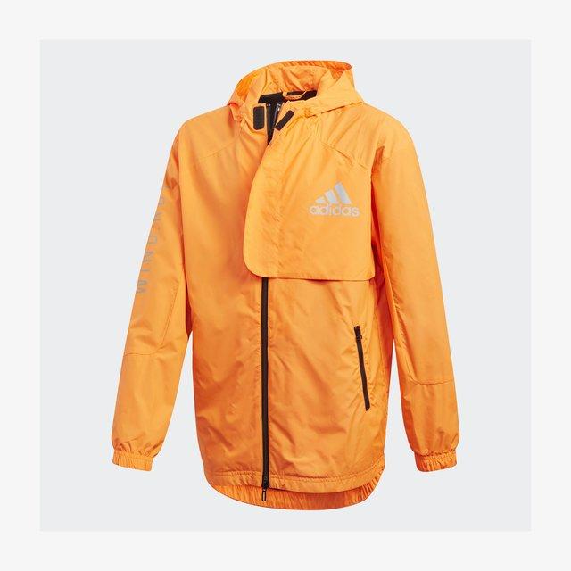 Veste de survêtement - app signal orange/black/silver met.