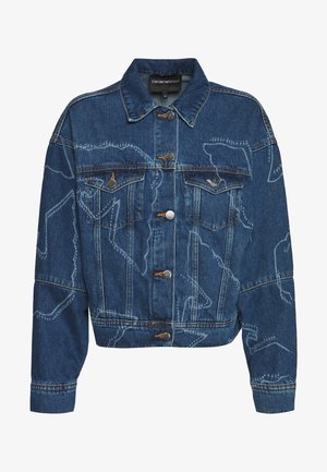 BLOUSON JACKET - Jeansjacke - blue denim