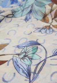 Codello - ANIMALS SIGNATURE HERRINGBONE - Foulard - jeans blue - 2