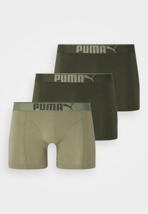 PREMIUM 3 PACK - Pants - dark green