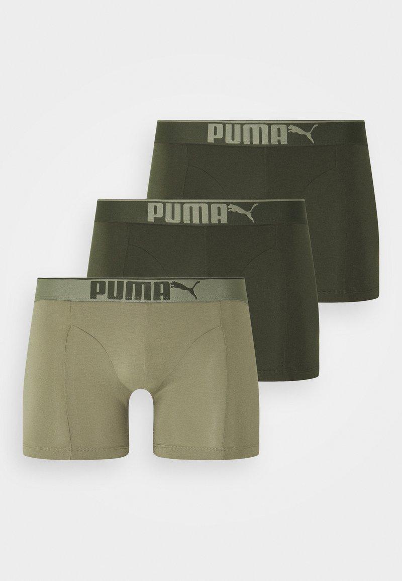 Puma - PREMIUM 3 PACK - Culotte - dark green