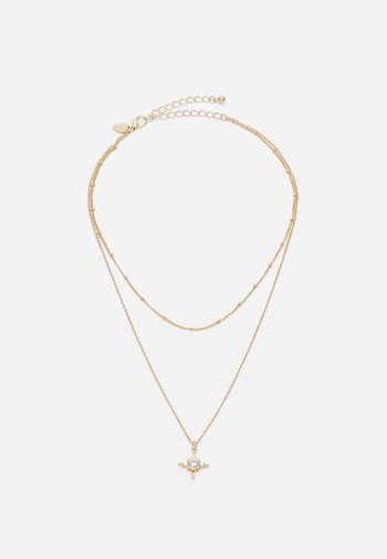 STAR CHARM - Necklace - gold-coloured