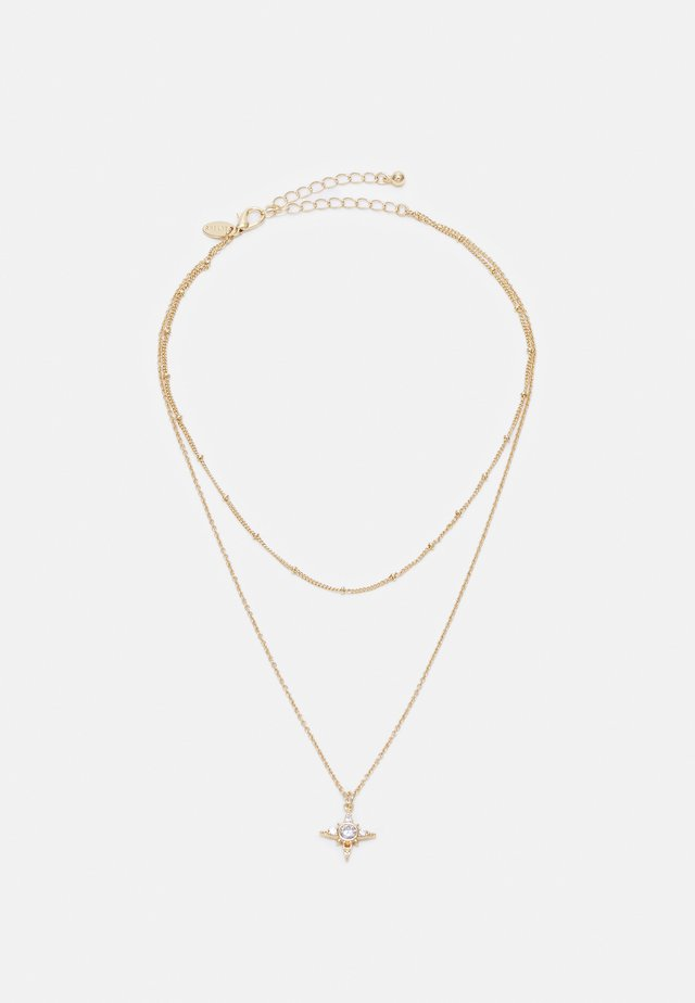 STAR CHARM - Collier - gold-coloured