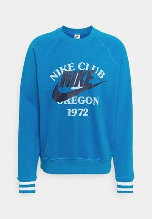 TREND CREW - Sweatshirt - photo blue
