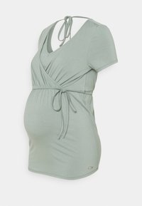 Esprit Maternity - NURSING - Triko spotiskem - grey moss - 0