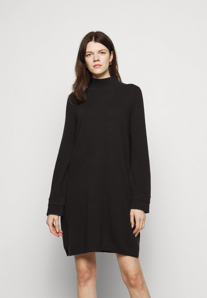 FTC Cashmere - Jumper dress - black tea