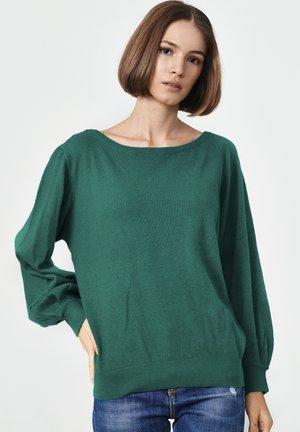 ALICANTE - Jumper - green