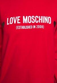 Love Moschino - Sweatshirt - red - 5