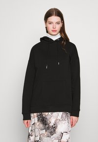 Nly by Nelly - OVERSIZED HOODIE - Sweat à capuche - black - 0
