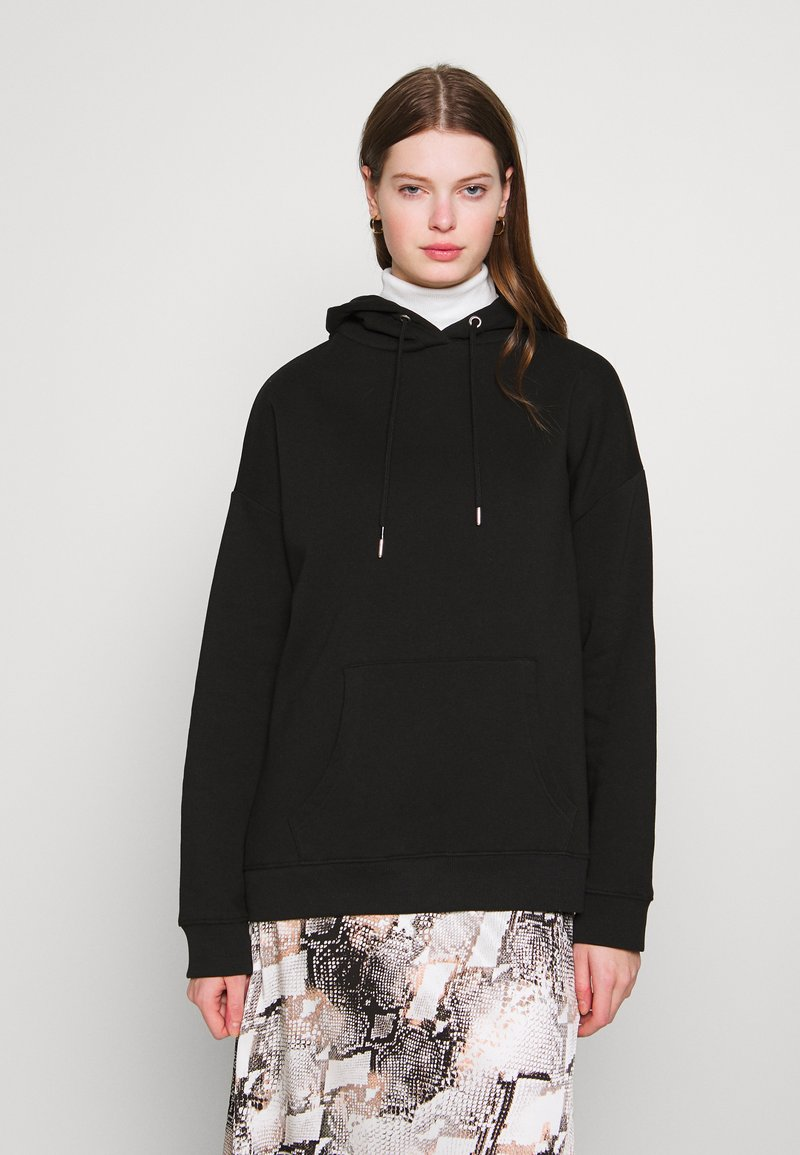 Nly by Nelly - OVERSIZED HOODIE - Sweat à capuche - black
