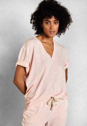 T-shirt basic - soft pink