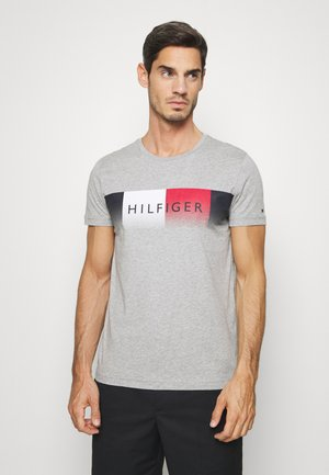TH COOL  - T-shirt print - grey