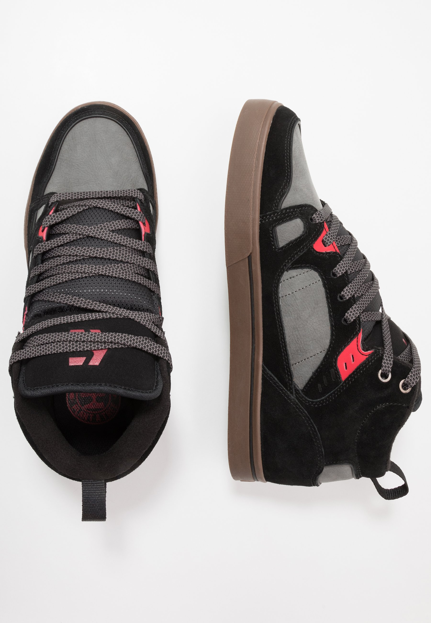 Etnies Agron - Skatesko Black/grey/red