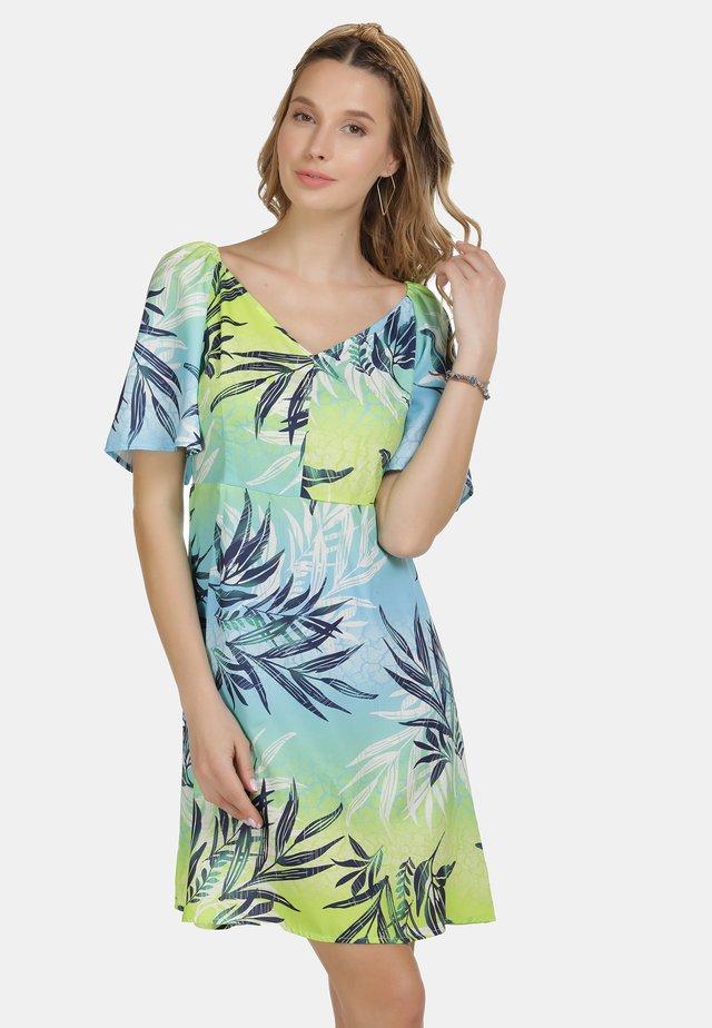 Vapaa-ajan mekko - tropical print