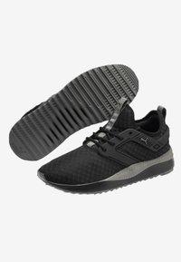 Puma - Trainers -  black/charcoal grey - 3