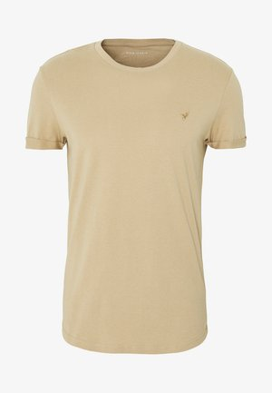 T-shirt basic - tan