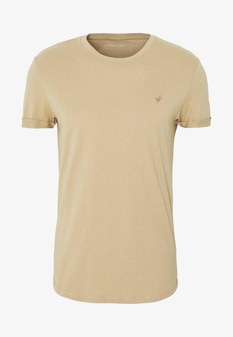 Pier One - T-shirt - bas - tan