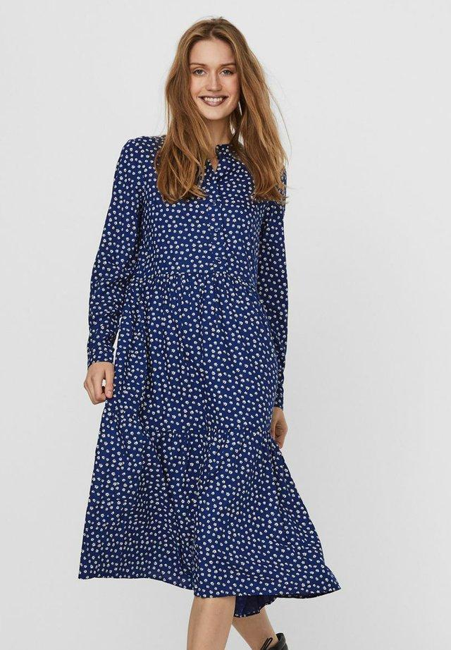 Shirt dress - sodalite blue