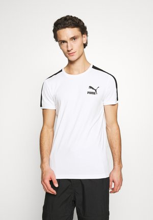 ICONIC SLIM - Sports shirt - white