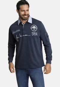 Jan Vanderstorm - JELLE - Polo shirt - dark blue - 0