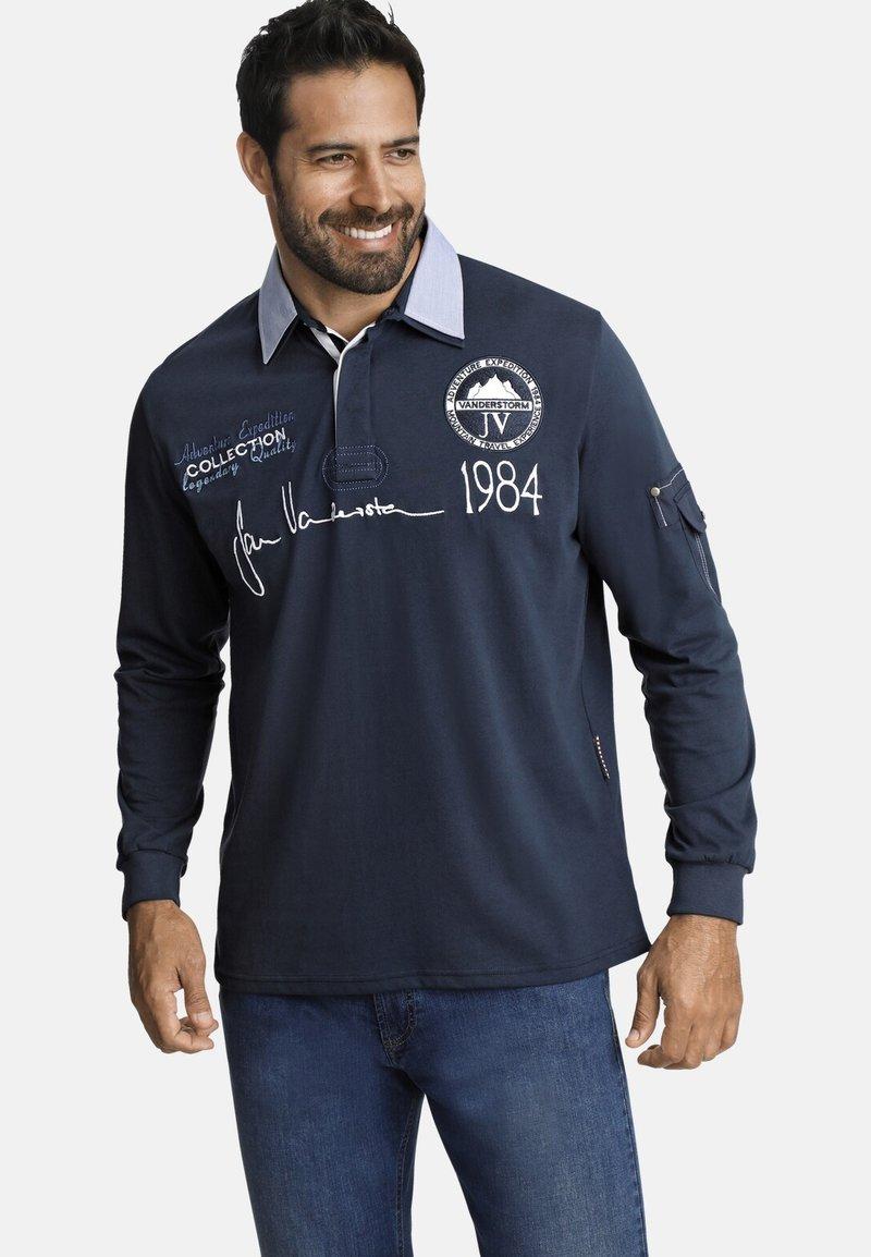 Jan Vanderstorm - JELLE - Polo shirt - dark blue