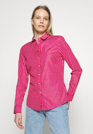 SONYA - Button-down blouse - ruby jewel