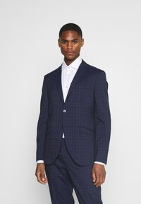 Selected Homme - SLHSLIM KYLELOGAN SET - Suit - navy blue/light blue - 2