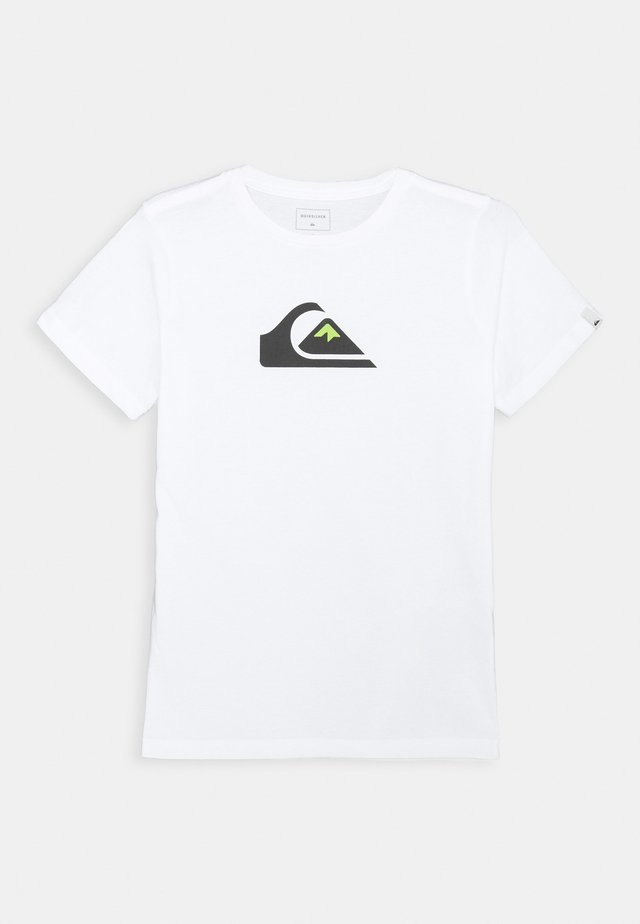 SCREEN TEE - Camiseta estampada - white