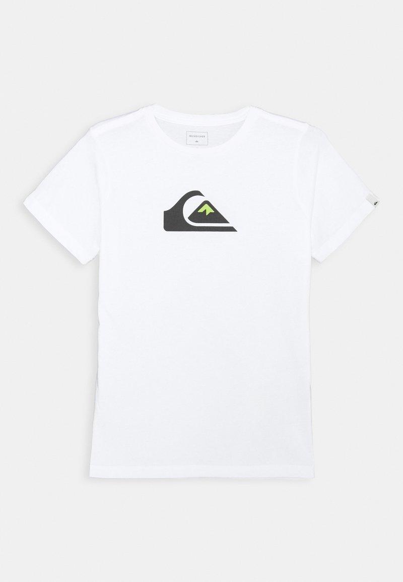 Quiksilver - SCREEN TEE - T-shirts print - white