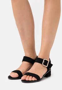 Simply Be - WIDE FIT BERGERAC - Sandals - black - 0