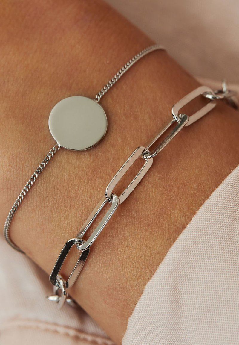 Selected Jewels - Armband - silver-coloured