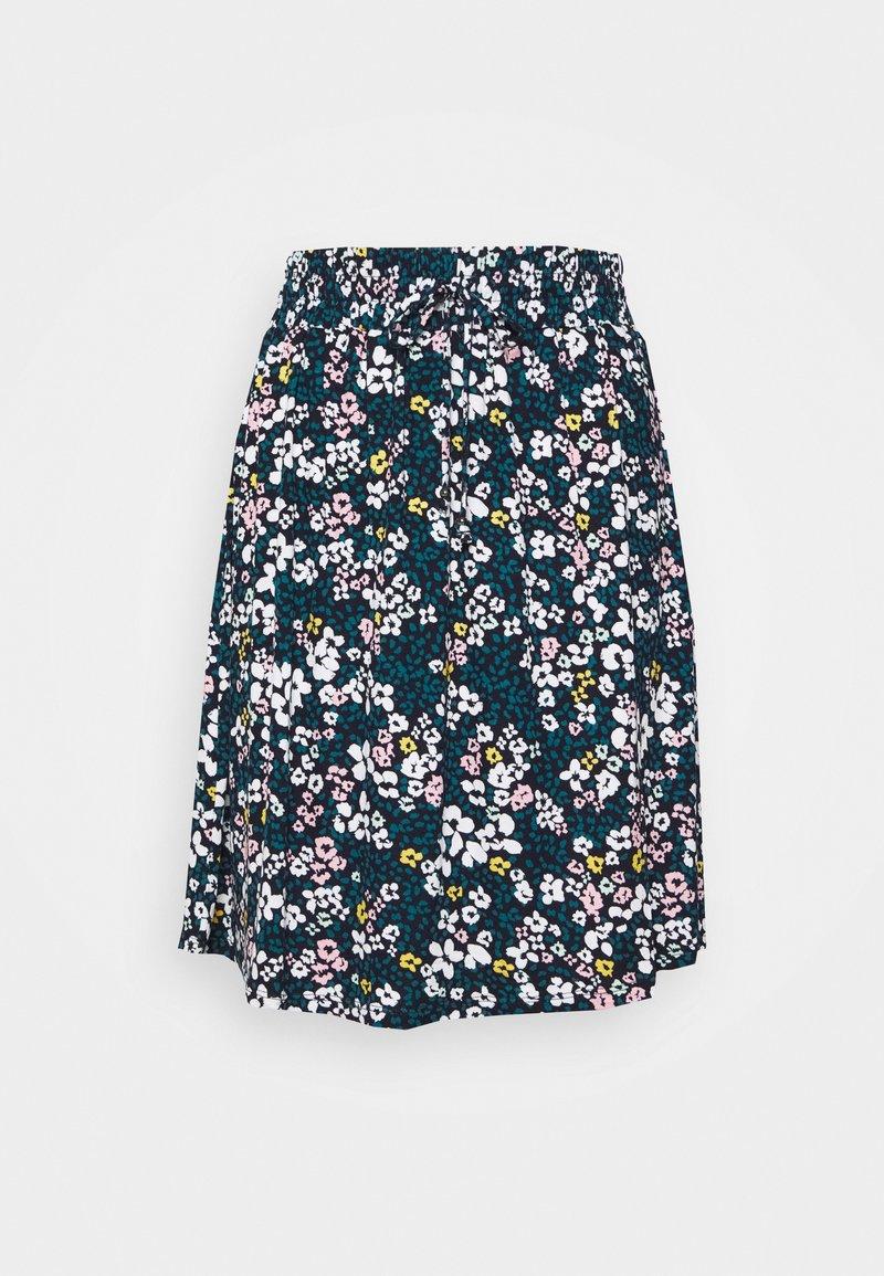 s.Oliver - A-line skirt - marine