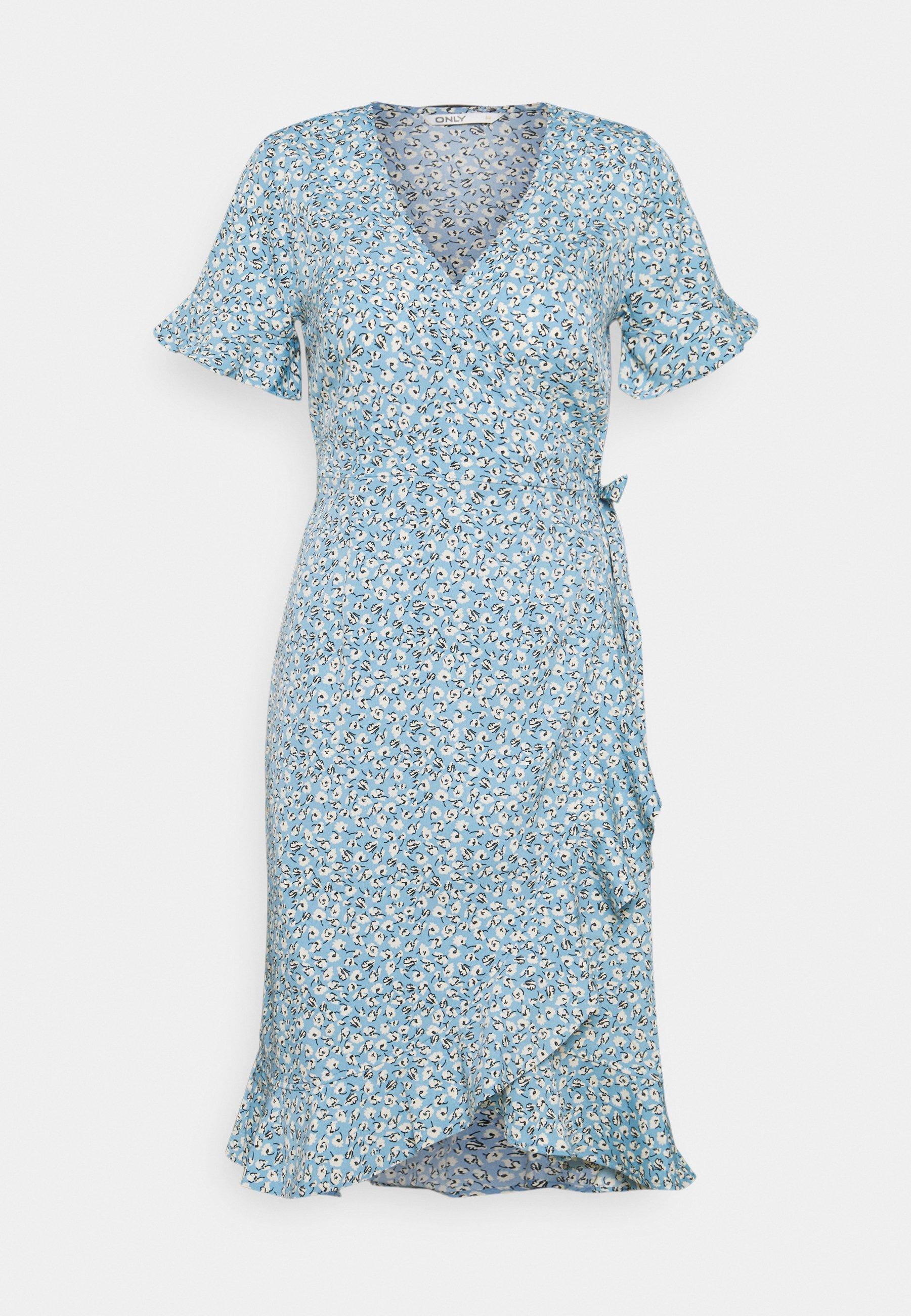 Women ONLOLIVIA WRAP DRESS TALL - Day dress