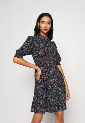VMLISSY SHORT DRESS - Shirt dress - navy blazer