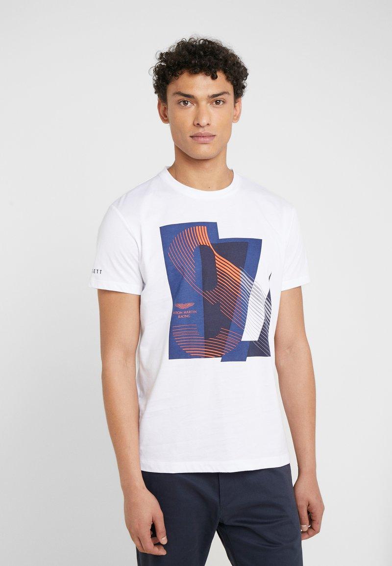 Hackett Aston Martin Racing - AMR RACING  - T-shirt con stampa - white