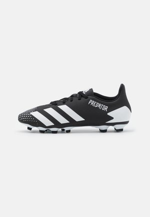 PREDATOR 20.4 FOOTBALL BOOTS FIRM GROUND - Fußballschuh Nocken - core black/footwear white
